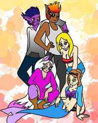Group of Characters