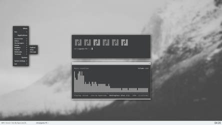 monochrome openbox
