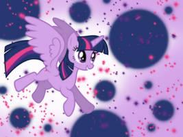 Twilight Sparkle Wallpaper by PrismaticStars