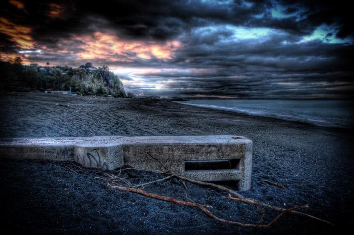 World War 2 Gun Bunker, Napier by RichardWood