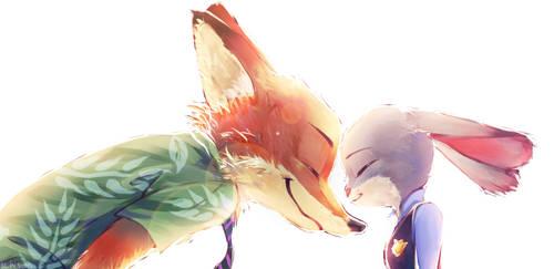 Zootopia - Nick x Judy