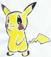 Pikachu by xlos3rx