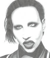 Marilyn Manson by littlemeli
