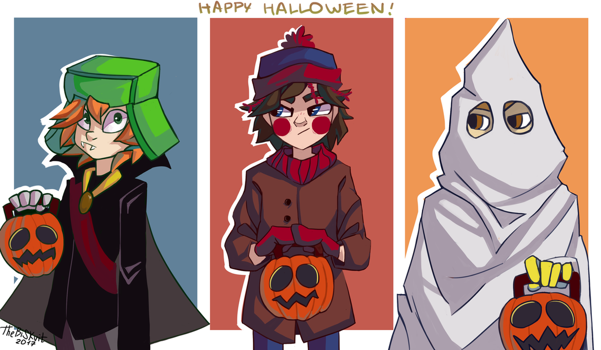 Happy Halloween South Park! by TheBiSKvit ... & Happy Halloween South Park! by TheBiSKvit on DeviantArt