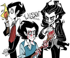 Don't Starve, Wilson! by TheBiSKvit