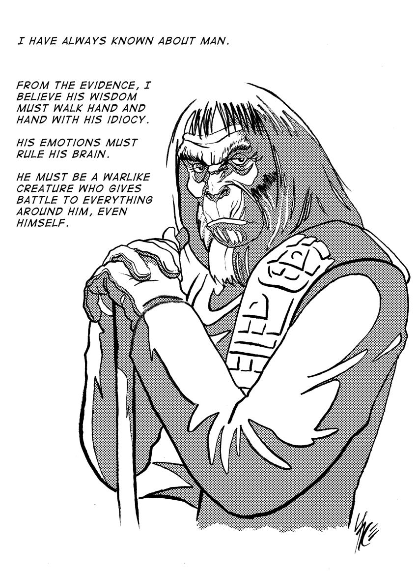 Dr Zaius copy by gambaryance
