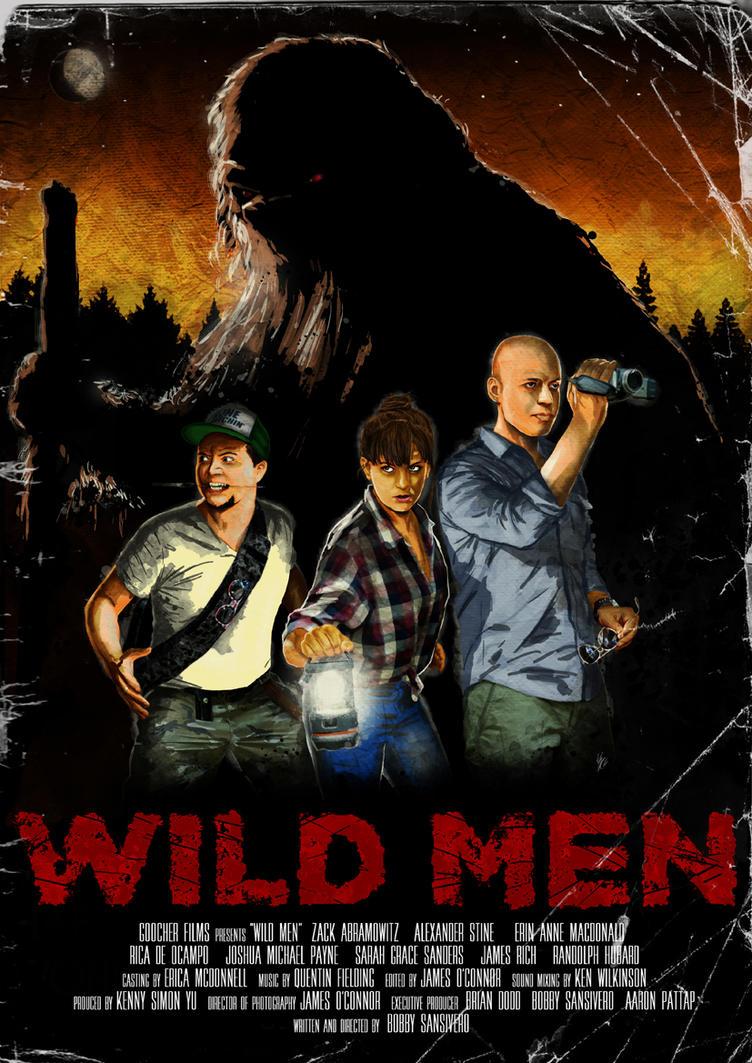 WILD MEN poster by gambaryance