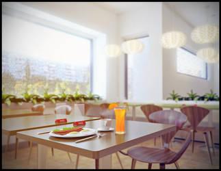 Cafe by Scrapler