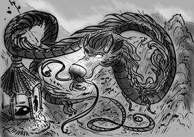 Sketch: The great dragon