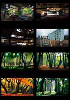 8 Studies by Waltjan