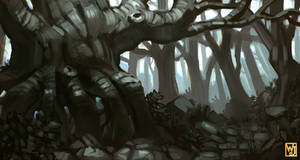 Sketch: Haunted Forest