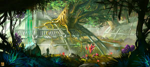 Commission : Otherworld Jungle