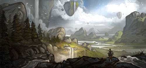 Sketch: Valley of Giants