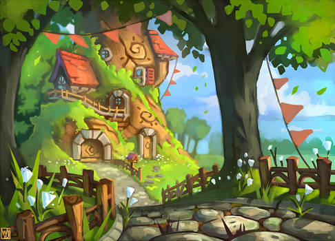 Commission: Tree House