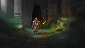 Sketch: Exploration in the Dark