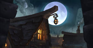 Sketch: Ominous Village