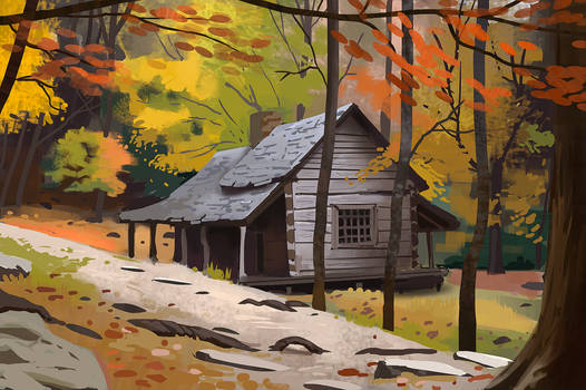Study: Cabin in the Forest