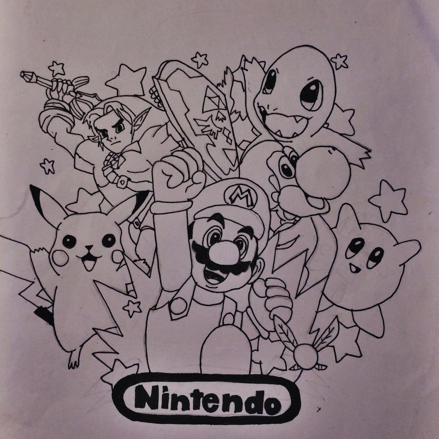 Nintendo Tattoo Design By Temmy111 On Deviantart