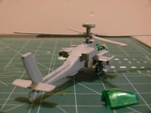 Mission Models Paint test Primer 2