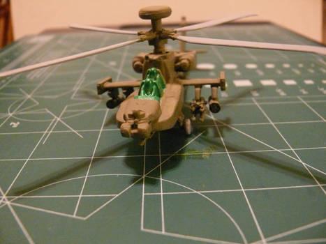 Mission Models Paint test Initial Coat 2