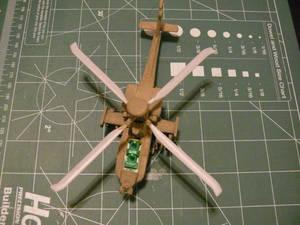 Mission Models Paint test Initial Coat 3
