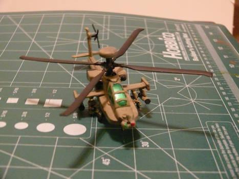 Mission Models Paint test Final Coat 1