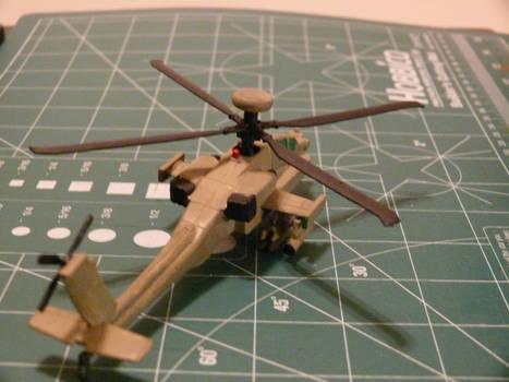 Mission Models Paint test Final Coat 2