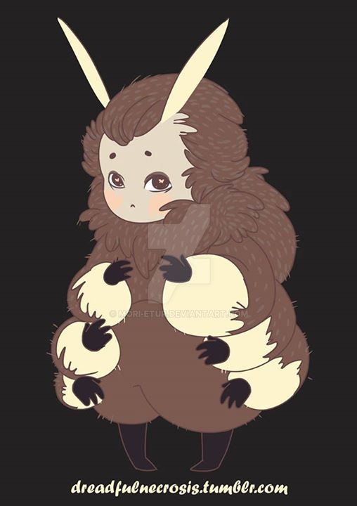 Southern Flannel Moth Boy by dreadfulnecrosis
