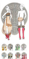 Hunger Games Chariot Outfits