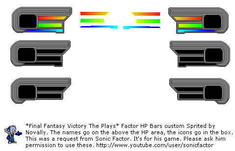 Sonic Factor Mugen Health bar by Novally