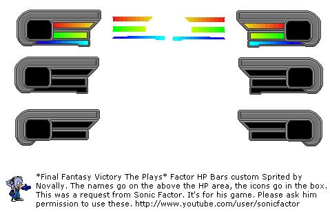 Sonic Factor Mugen Health bar by Novally on DeviantArt
