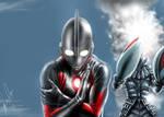 Baltan Seijin Vs Ultraman