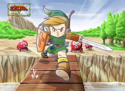 Legend Of Zelda the bridge