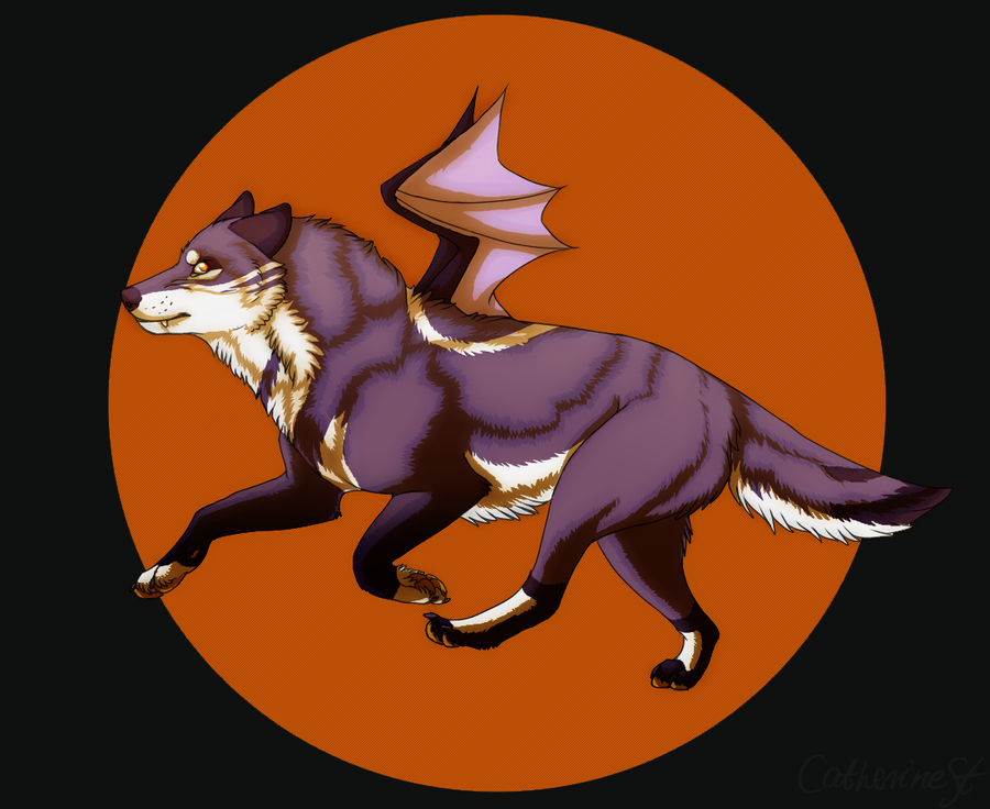 halloween wolf by catherinest - Wolf Halloween