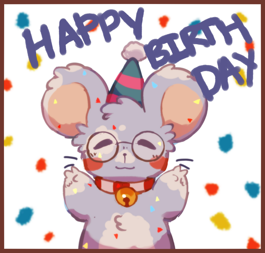 birthday by a9o