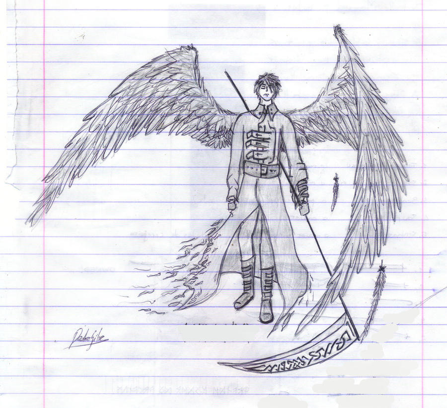 Lucifer Azrael: Archangel Azrael By Lyco5 On DeviantArt