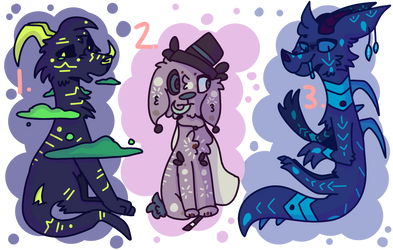 Auction Adopts - (Open) by TheNameOfName
