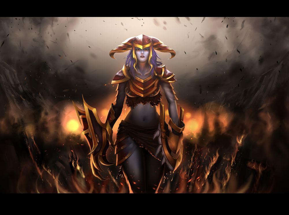 Shyvana by Amylrun