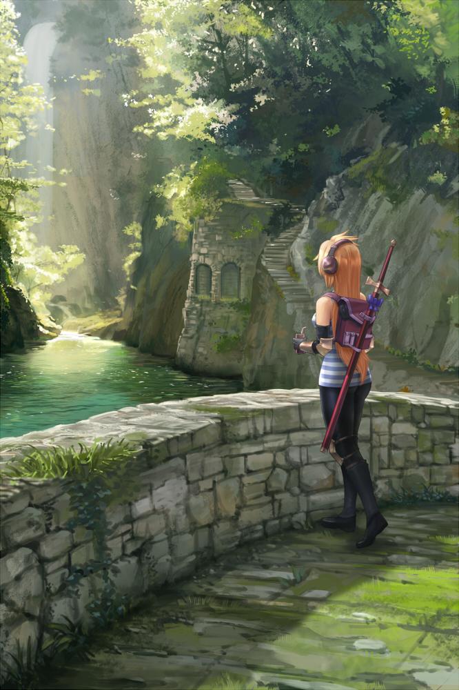 Forgotten path by Amylrun
