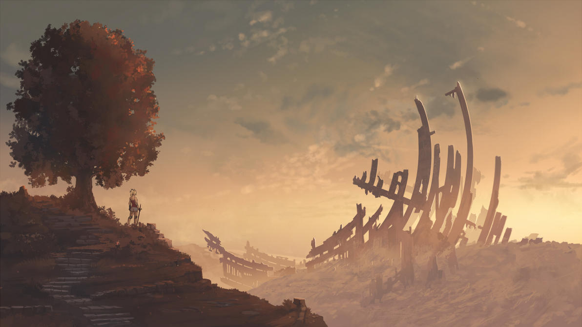 Alem's sanctuary by Amylrun