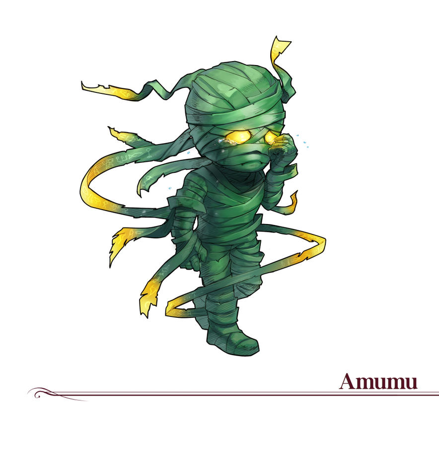 #5 Amumu by Amylrun