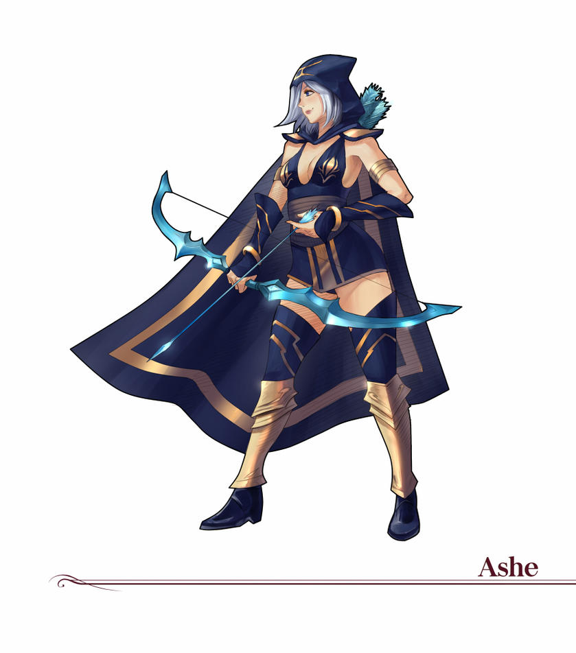 #8 Ashe by Amylrun