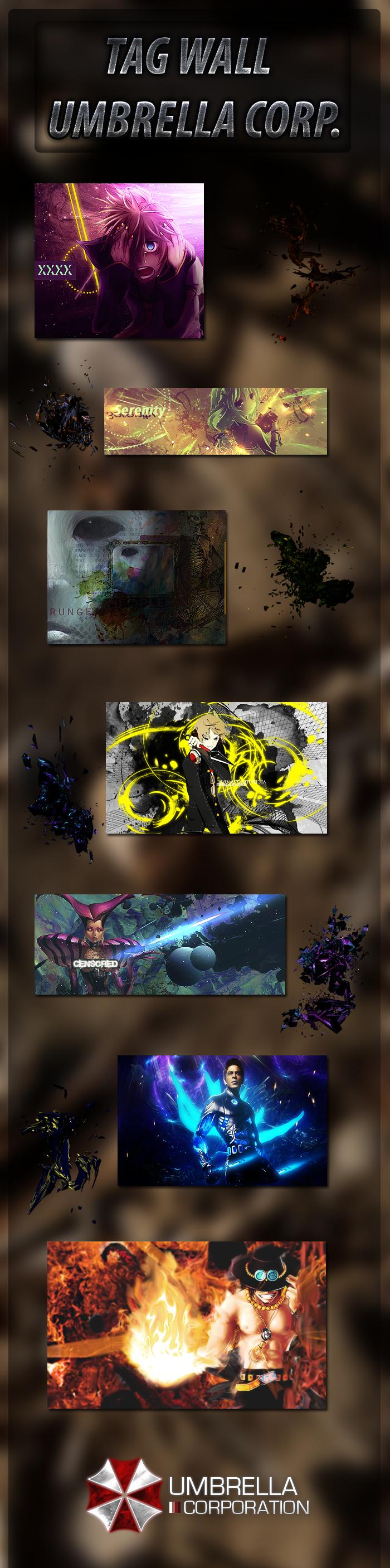 Rhyzamek vs Umbrella Corp. [Votaciones]  Tag_wall_umbrella_corp__by_dan_schweinsteiger-d5d8xot