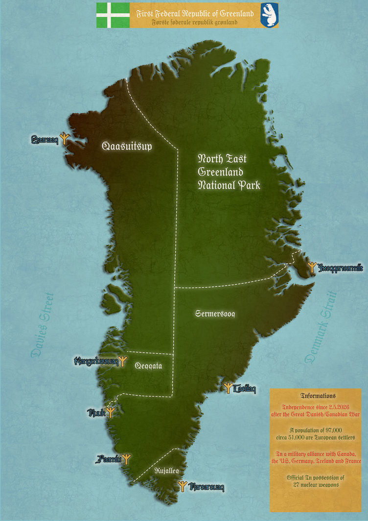 Federal Republic of Greenland by IasonKeltenkreuzler