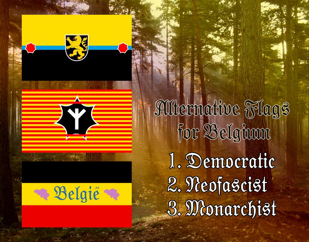 Alternate Flags for Belgium by IasonKeltenkreuzler