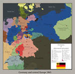 Germany and central europa 1865