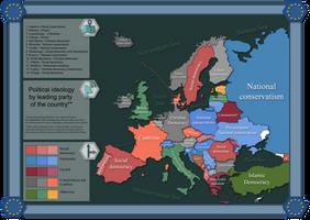 Ideology of leading parties in Europe by IasonKeltenkreuzler
