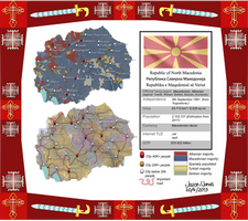 North Macedonia: Political and ethnographic by IasonKeltenkreuzler