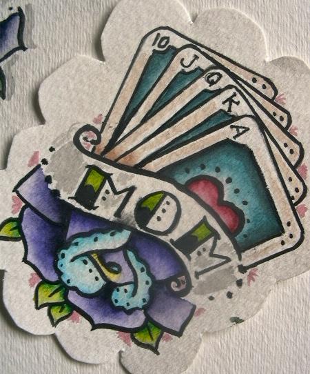Watercolour - Tattoo Art 3 by Lloydica