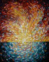 Acrylic - Sublime Sunshine by Lloydica